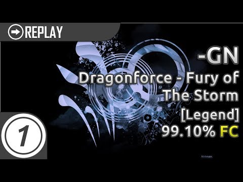 GN  DragForce  Fury of the Storm Legend FC 9910% #1 Qualified