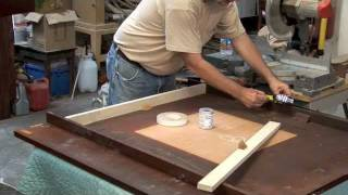 Cutting Finished Table Tops To A Smaller Size