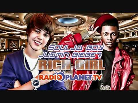 Justin Bieber ft Soulja Boy  Rich Girl SPED UP