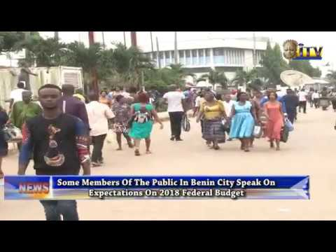 Some Members Of The Public In Benin City Speaks On Expectation On 2018 Federal Budget