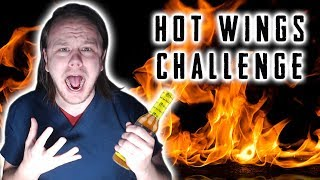 Hot Wing Challenge | WE TAKE ON THE LAST DAB!!!