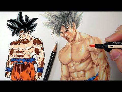Drawing   REALISTIC GOKU   Dragonball Realism Art