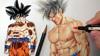 Drawing | REALISTIC GOKU | Dragonball Realism Art