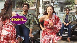 Ananya और Kartik की मस्ती | Pati Patni Aur Woh Movie Promotion