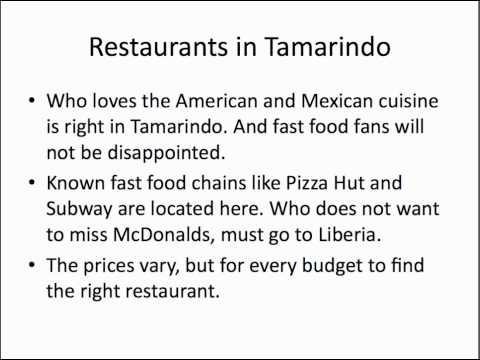 Tamarindo Costa Rica Restaurants | (506) 8718-3271