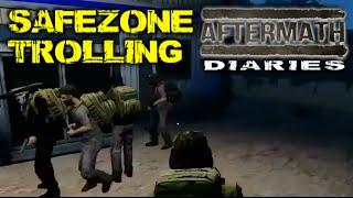 #AftermathMMO Diaries ► SAFEZONE TROLLING ◄ Romero