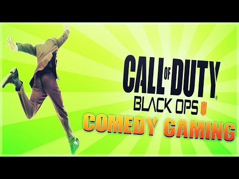 Black Ops 4 -  Blackout - Dam Jump - Scarecrow Kill - Comedy Gaming