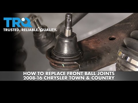 How to Replace Front Ball Joints 2008-16 Chrysler Town & Country