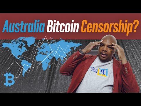 Australia Bitcoin Censorship?