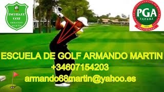 CLASES GOLF MADRID-puntos y referencias sobre el swing de golf