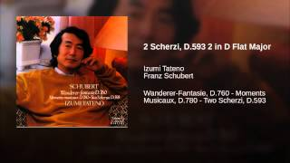 2 Scherzi, D.593 2 in D Flat Major