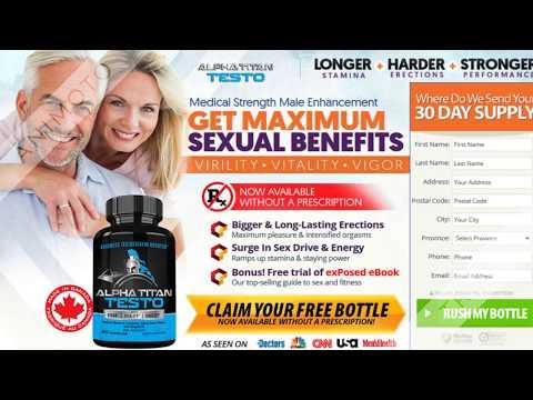 Alpha Titan Testo Reviews Pills Benefits Canada CA Ingredients Uses Warning Price