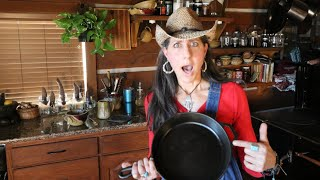what I just learned about CAST IRON cookware!?!