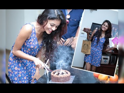 Surprise Visit on Dinakshie Priyasad's Birthday