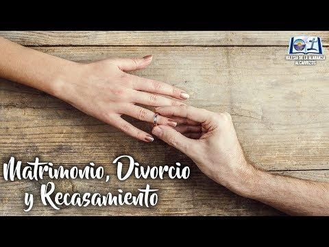 """""""Matrimonio, Divorcio y Recasamiento"""" (Marcos 10:1-12) - Ps. Regil Medina"""