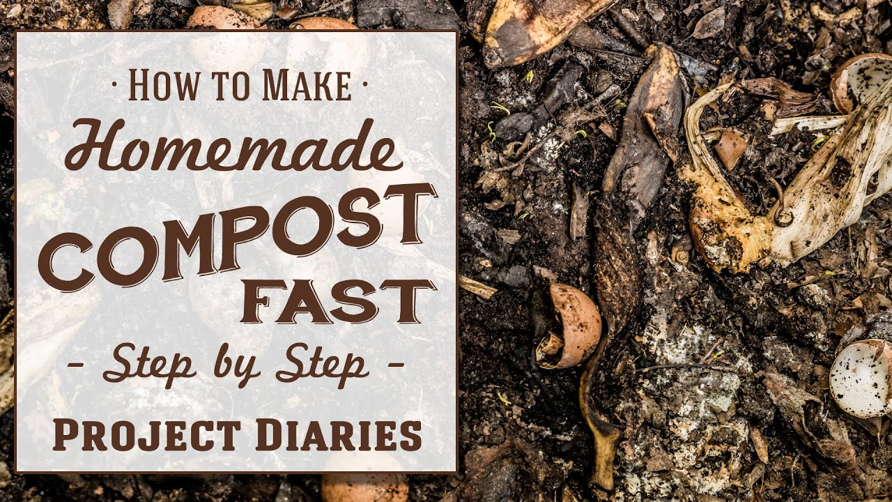 ☆ How to: Make Homemade Compost Fast