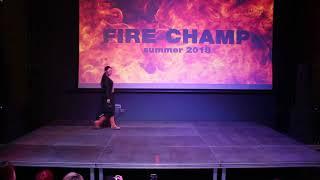 [허니제이 솔로쇼] Honey J judge show in moscow 'fire champ summer 2018'