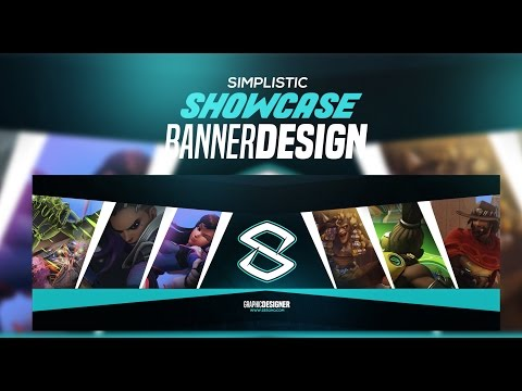 Photoshop Tutorial: Simplistic Showcase Banner Design
