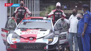 Finally, the long wait for safari rally is over after President Uhuru flagged off the rally cars
