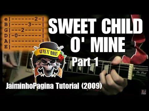 Sweet Child O' Mine – (Guns N Roses) Lesson part 1