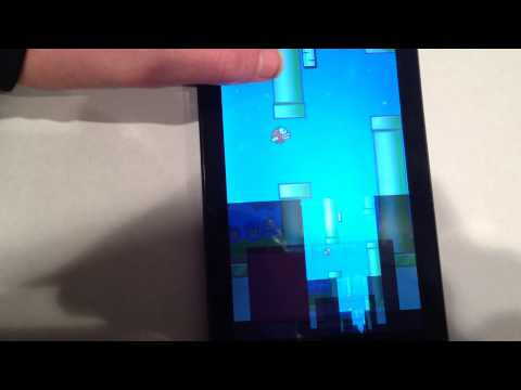 Flappy Bird Slo-Mo Cheat For Android