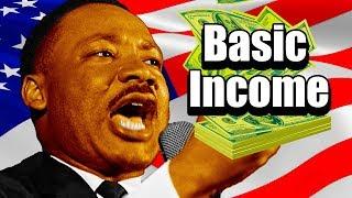 MLK & Universal Basic Income | Guaranteed Income (5 Reasons)