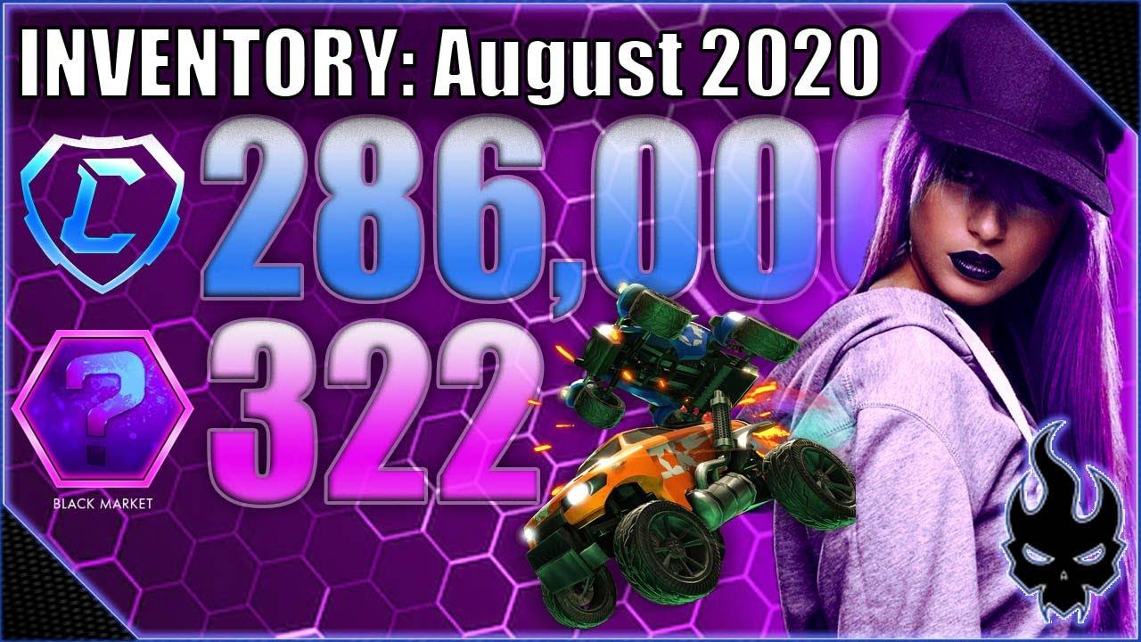 Black Market Heaven (August 2020 Inventory) - Rocket league - Xbox One