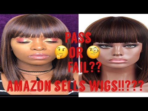 I BOUGHT A WIG OFF AMAZON!/ ARE THEY SERIOUS!|