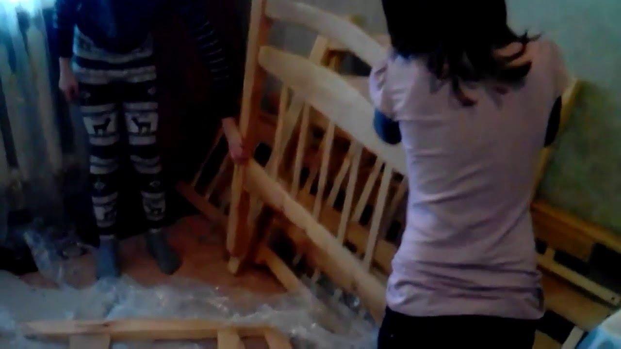 как сделать кровать для куклы - YouTube