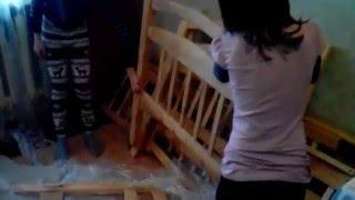 видео  Кровать двухъярусная Жасмин