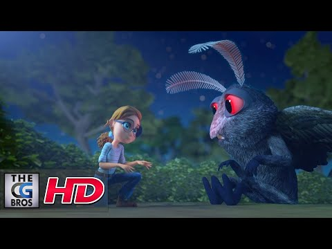 "CGI 3D Animated Short: ""Attack of the Mothman""  - by Meg, Catrina, & Khalil"