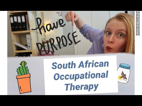 Occupational Therapy in South Africa - Explained.