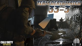 WWII - AMAZING 33-3 LIVE TDM GAMEPLAY W FACECAM! MP-40, STREAKS, TRIPLE KILLS & MORE!