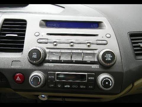 подключаем AUX в Honda Civic