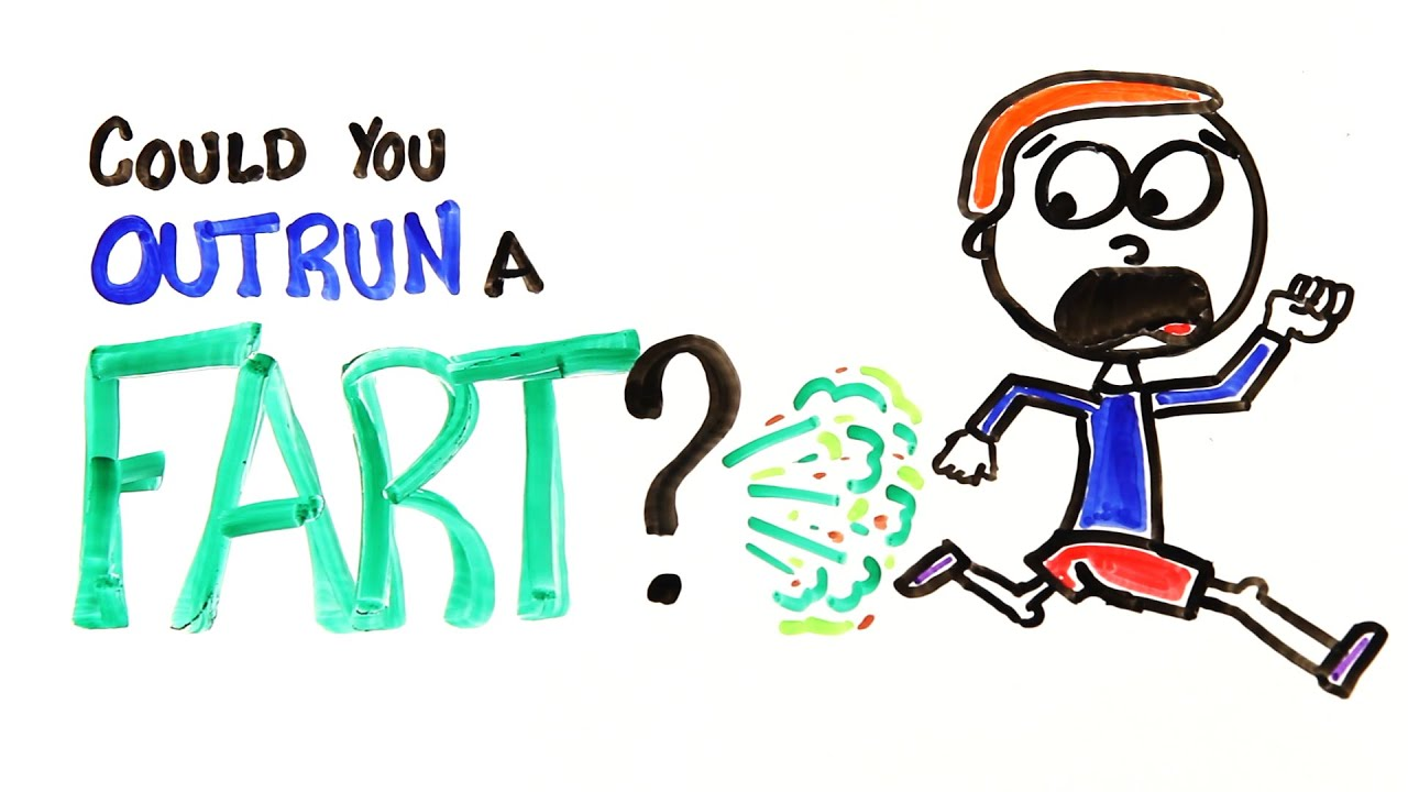 Could You Outrun A Fart? - YouTube