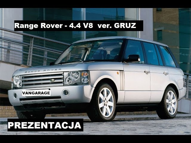 Range Rover - Prezentacja Gruza za 1/3ceny