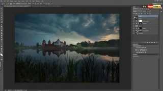 Урок Как обработать пейзаж в Фотошоп Уроки Photoshop