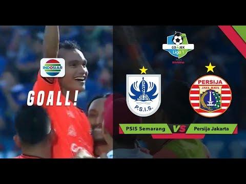 Goal Riko Simanjuntak - PSIS Semarang (0) vs Persija (2) | Go-Jek Liga 1 bersama Bukalapak