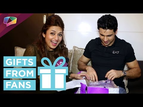 Divyanka Tripathi And Vivek Dahiya Unwrap Anniversary Gift From Their Fan | India Forums