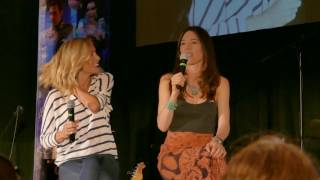 Victoria Smurfit and Jaime Murray panel OUAT Chicago 2017 Part 2