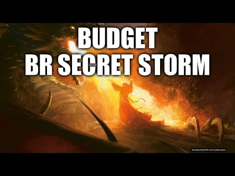 Magic the Gathering - BR Secret Storm (Casual Building on a Budget) [Deutsch]