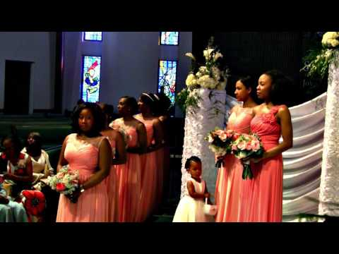 Wedding ceremony for Brianna and KevinLee Scott