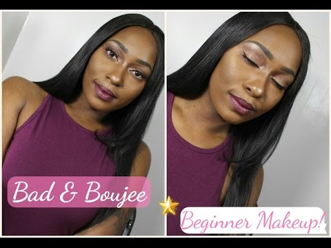 bad and boujee makeup tutorial // soft cut crease