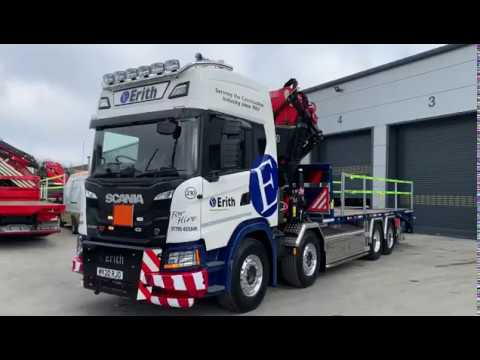 One of the Regulars, Erith Group take delivery of NEW Truck