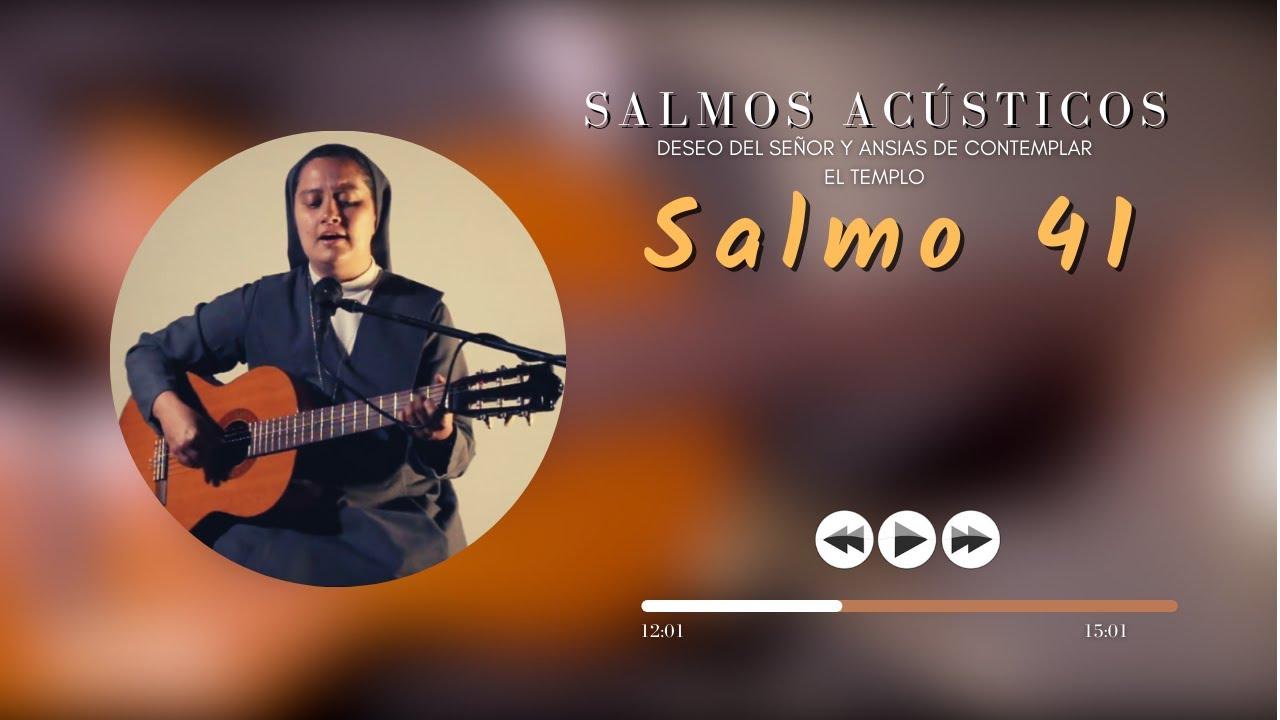 SALMO 41 - Cover - Orar con los Salmos