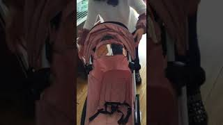 How to open and close the Baby Throne stroller?