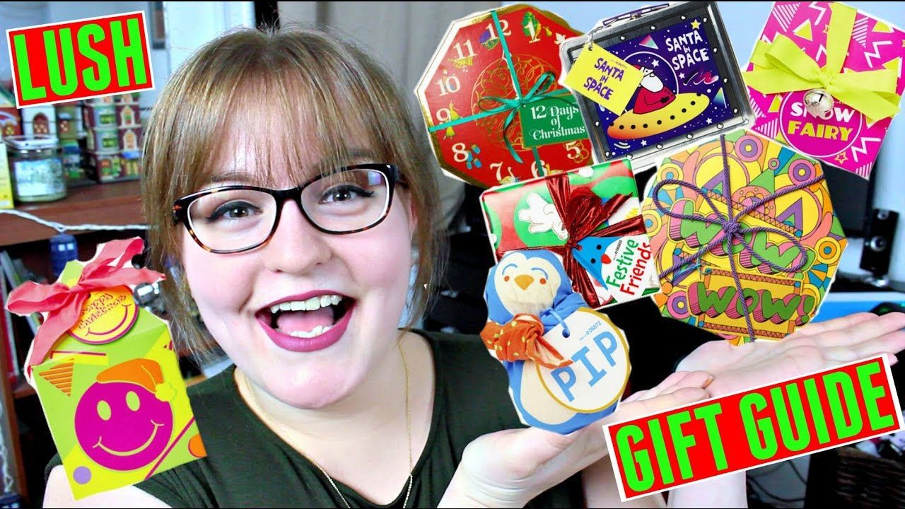 Best Lush Christmas Gifts for ANY Budget!   LUSH GIFT GUIDE 2016 ...