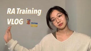 [ENG] 미국대학 RA Training 브이로그 | …
