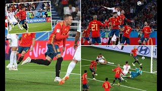 Breaking News - Spain 2-2 Morocco: Iago Aspas snatches late VAR-assisted equaliser