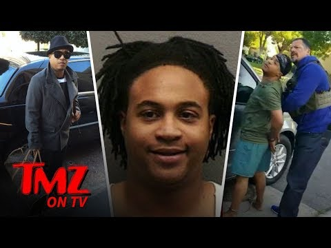 Orlando Brown Arrested By Bounty Hunters In His Boxers! | TMZ TV